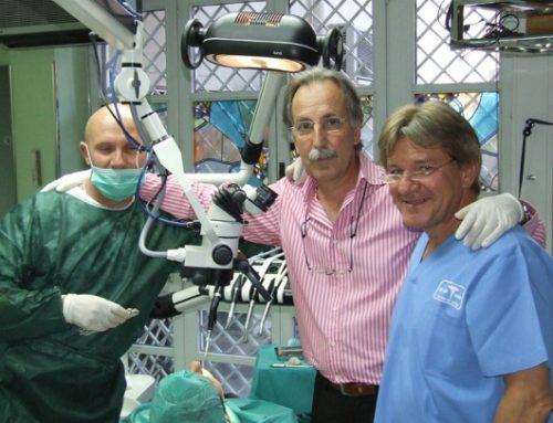 Dr. Werner Mander  & Dr. Antonio Rey Gil. Implantes Valladolid.Implantología Integral